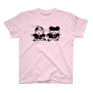 シューくん&マイちゃん T-shirts