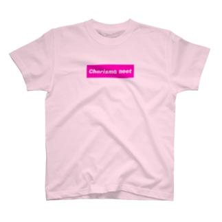 カリスマニートのCharisma neet ピンクボックス T-shirts