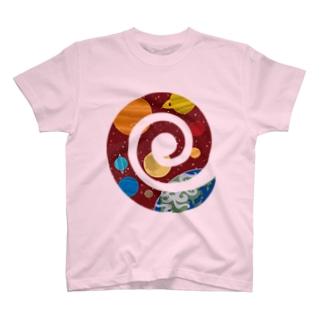 うずまき宇宙 T-shirts