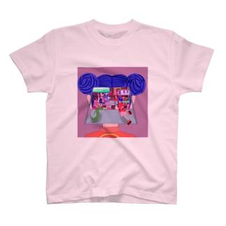 チャイニーズ電脳少女 T-shirts