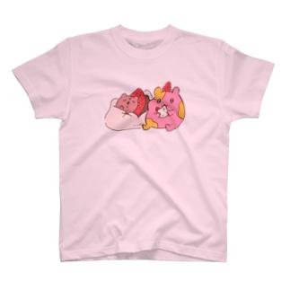 イチゴ大福ハムちゃん T-shirts