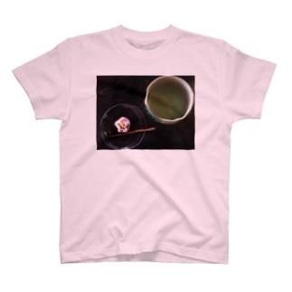 お抹茶 T-shirts