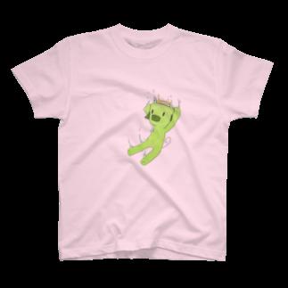 えめ豚のえめ豚(シンプル) T-shirts