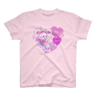 HOP STEP TULIP T-shirts