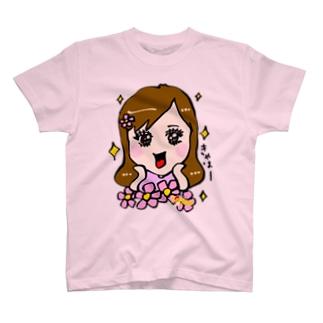 似顔絵屋Honeyのあざとかわいいブラックハニー T-shirts