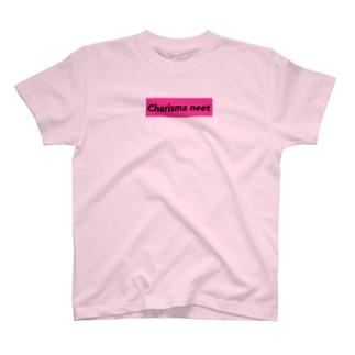 Charisma neet ブラックピンクボックス T-shirts