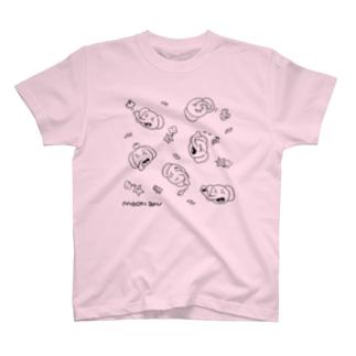 ごはんとMOCHIZOUくん(ノーマル) T-shirts