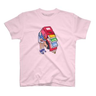 アッちゃん!おっちょこちょい T-shirts