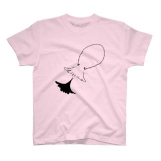 墨吐きタコ T-shirts
