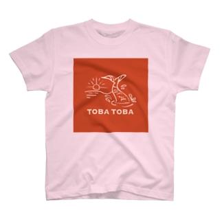 TOBA TOBA COLA T-shirts