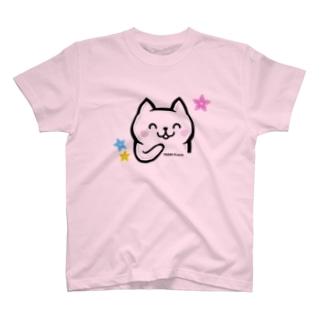 LINEスタンプ販売記念★ねこ美さん T-shirts