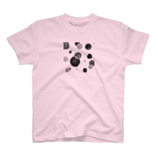 ブラックサークル T-shirts