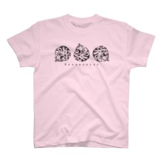 ニャンモナイト T-shirts