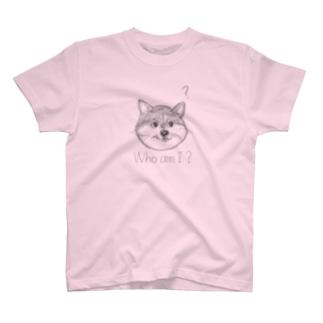 自分がネコかイヌかわからなくなった T-shirts