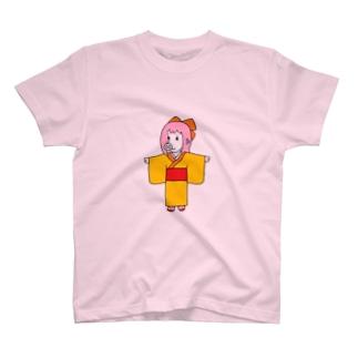 ちょっと小粋な、お豚(とん)さん。 T-shirts