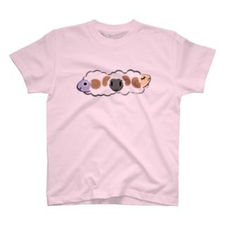かわいい羊 T-shirts