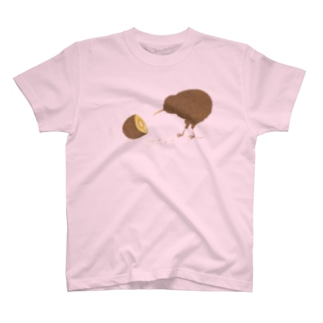 kiwi  bird  (gold) T-shirts