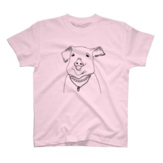 ぶたおばさん T-shirts