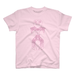 ハート型土偶 T-shirts