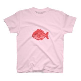 ドット絵のタイ T-shirts