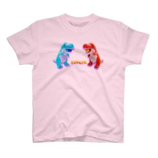 よしてる君のわくわく捕食くん T-shirts
