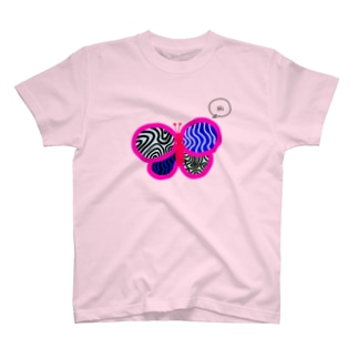SHY BUTTERFLY T-shirts