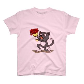 くつ下ねこさん(プロポーズ) T-shirts