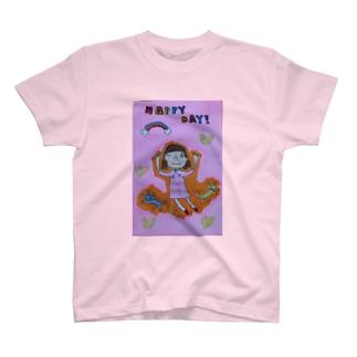 ハッピーディ T-shirts
