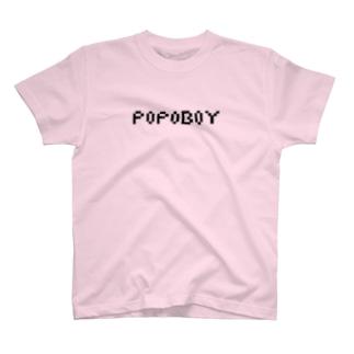 ポポボーイロゴ T-shirts