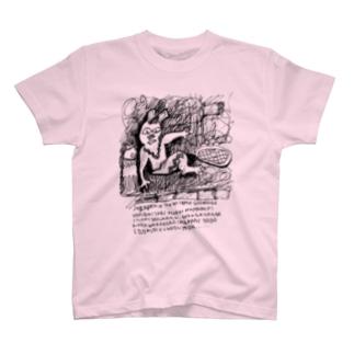 タイムトラベルうさうさ  T-shirts
