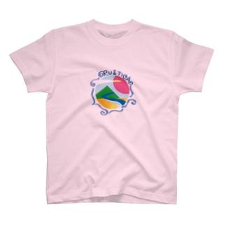 RUSTICAロゴ-G T-shirts