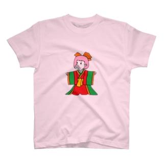 ジュウニヒトンエ(十二単豚衣)!? T-shirts
