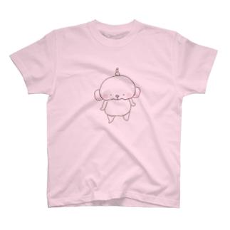 ましゅまる 。棒立ち T-shirts