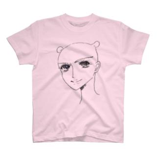 団子マンとの甘いひととき T-shirts