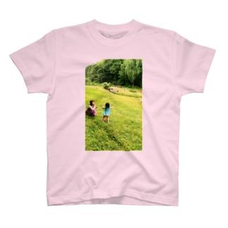 シャボン玉 あそぼう T-shirts