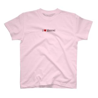 I love Mezcal T-shirts