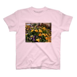夏花 T-shirts