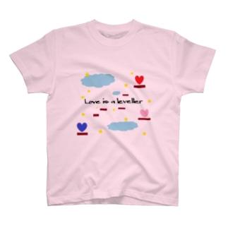 恋に上下の隔てなし T-shirts
