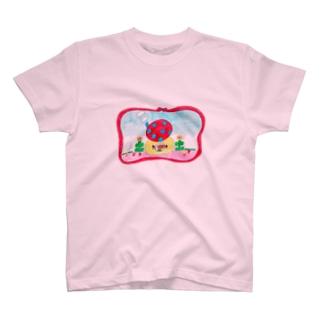 もりのりすさん T-shirts
