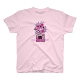 アンドアイデザイン パフュームボトル T-shirts