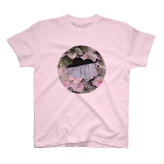 紫陽花氷柱 T-shirts