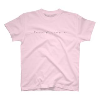 文字ロゴT (カラー多数) T-Shirt