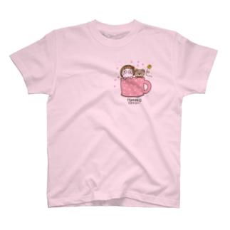 ひょこ(色変更可能) T-shirts