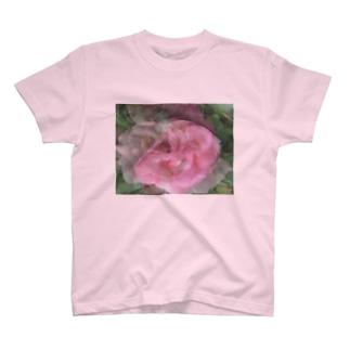 薔薇 T-shirts