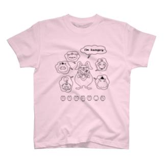 ハングリー T-shirts