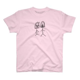 ゴリオとゴリ子 T-shirts