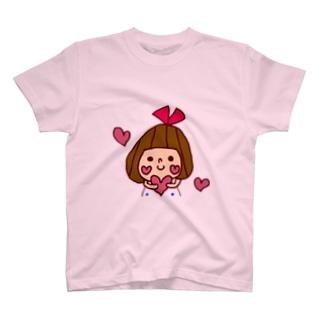 ハートリボンちゃん T-shirts
