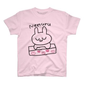 ねむるうさぎ T-shirts