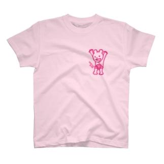 控えめチャンプくんTシャツ T-shirts