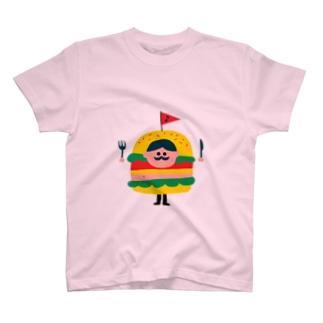 Burger man T-shirts
